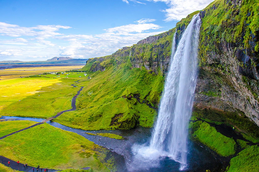 image Islande Chutes Seljalandsfoss  it