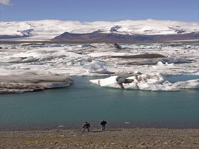 image Islande Jokulsarlon banquise