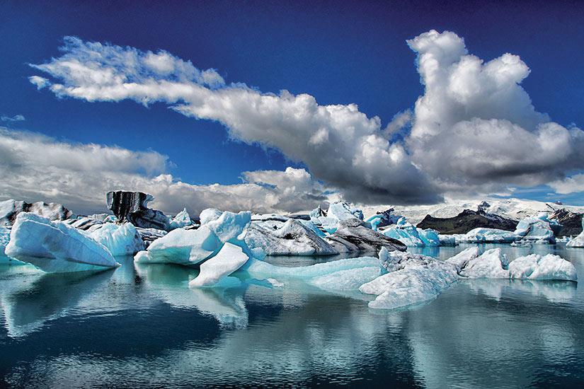 image Islande Jokulsarlon glacier lagune  fo