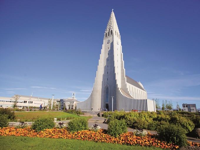 image Islande Reykjavik cathedrale