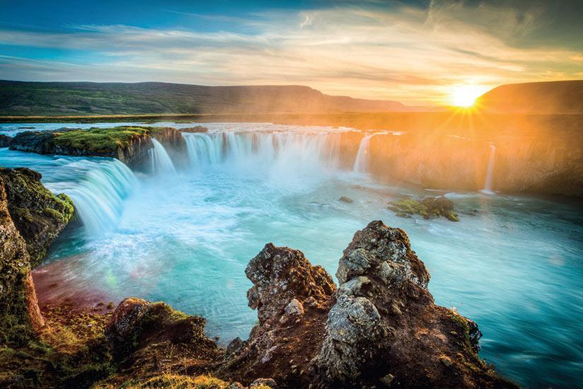 image Islande chute deau Gooafoss  fo