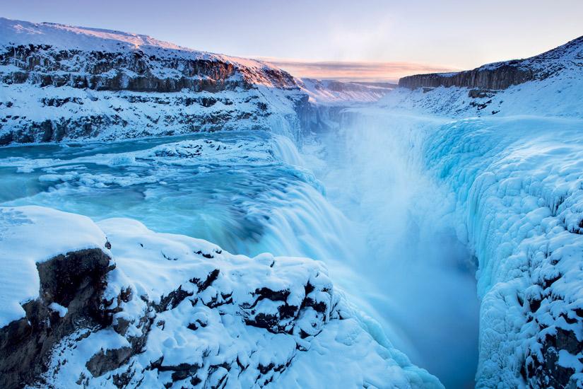image Islande chutes gullfoss route cercle or neige arctique coucher soleil 39 it_157481837