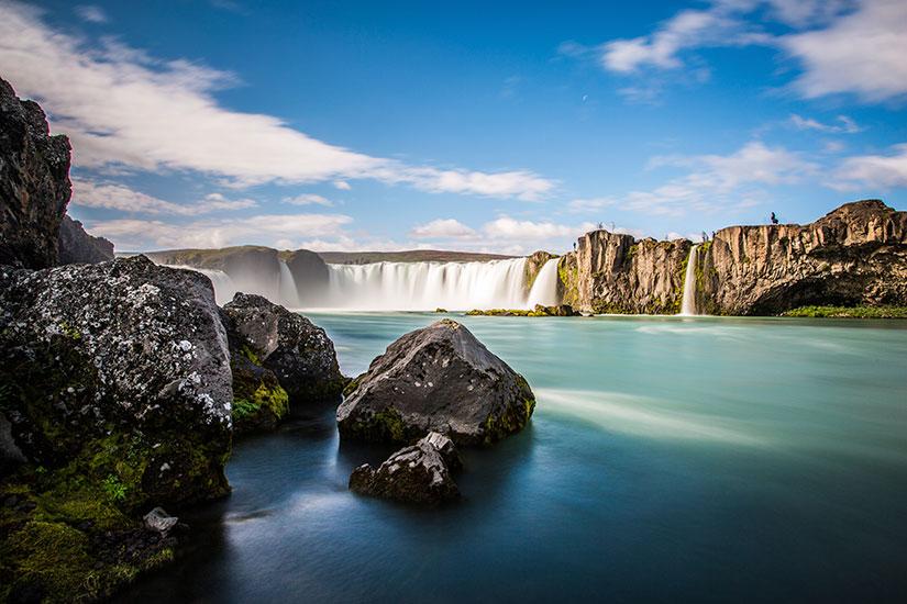 image Islande lac Myvatn Chutes Godafoss  it
