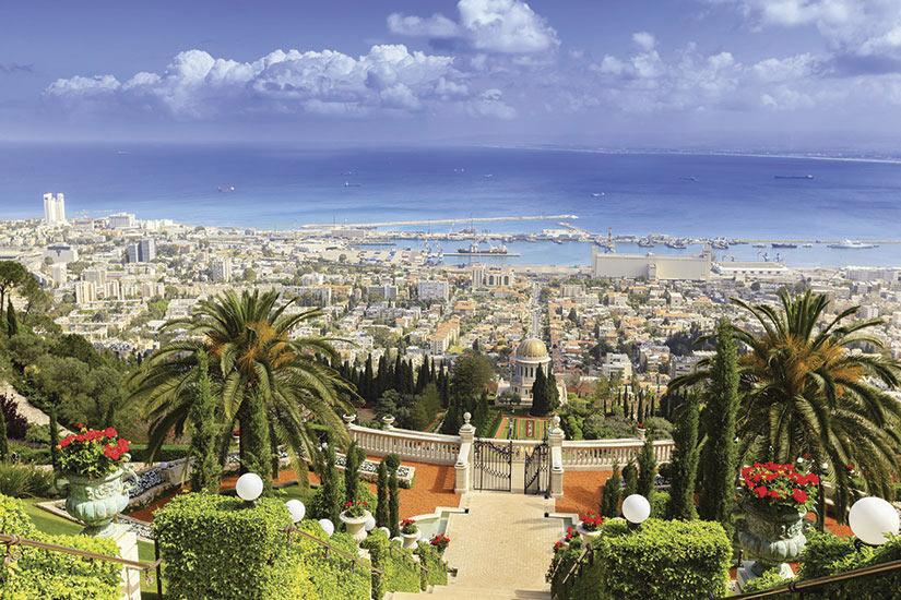 image Israel Haifa vue aerienne  it