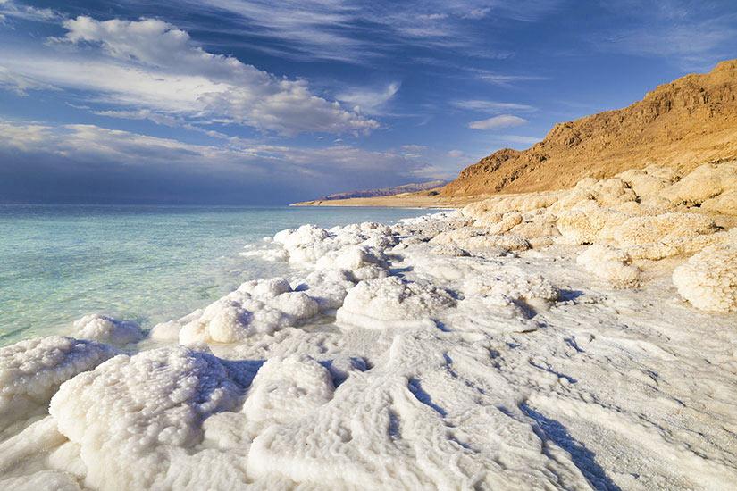 image Israel Vue de la cote de la Mer Morte  fo