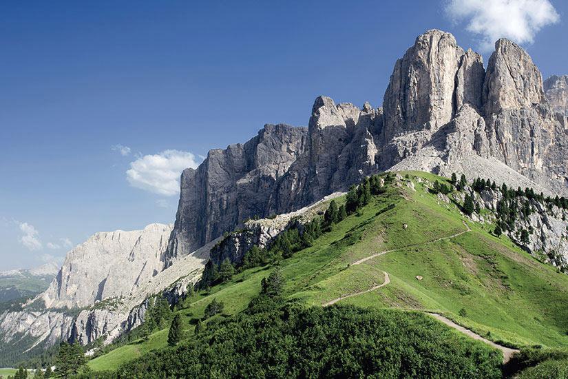 image Italie Ampezzo vue densemble des Dolomites  fo