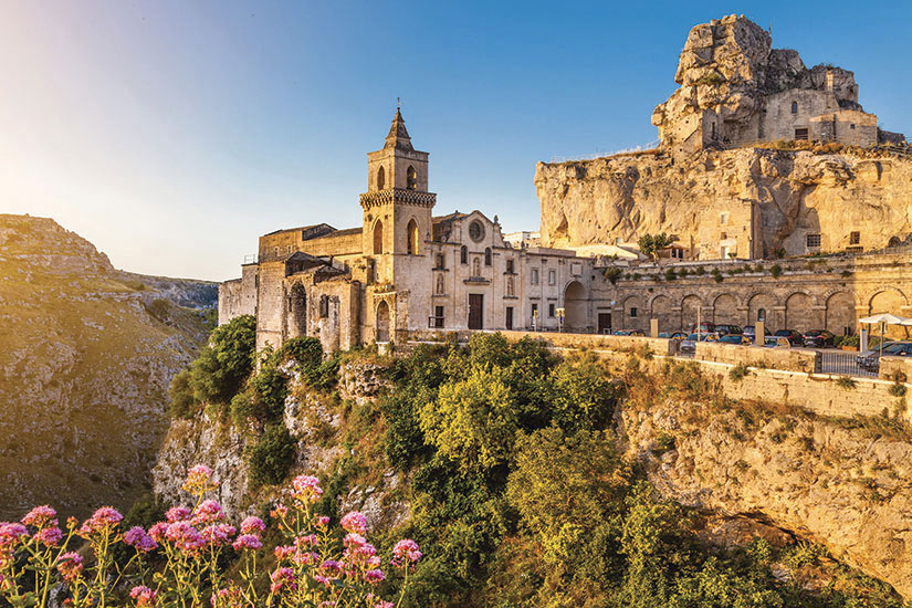 image Italie Basilicate Vieile ville de Matera  it