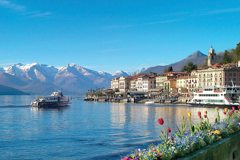 image Italie Bellagio Lac de Come  fo