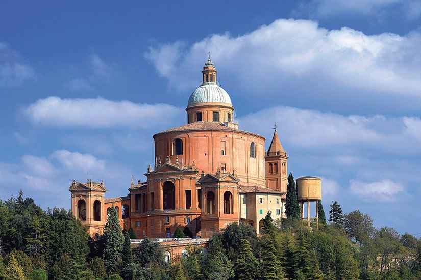 image Italie Bologne San Luca  it