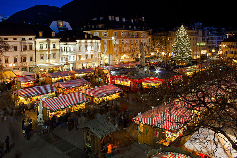 image Italie Bolzano Marche Noel  fo
