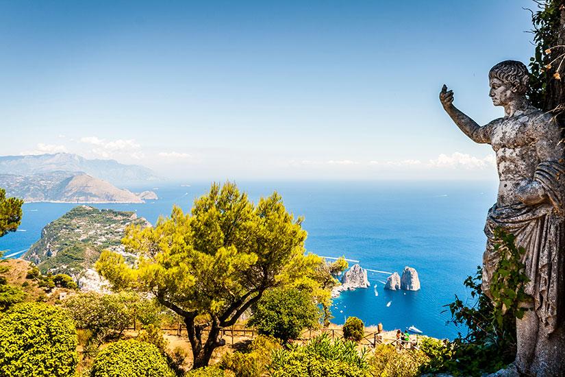 image Italie Capri statue  it