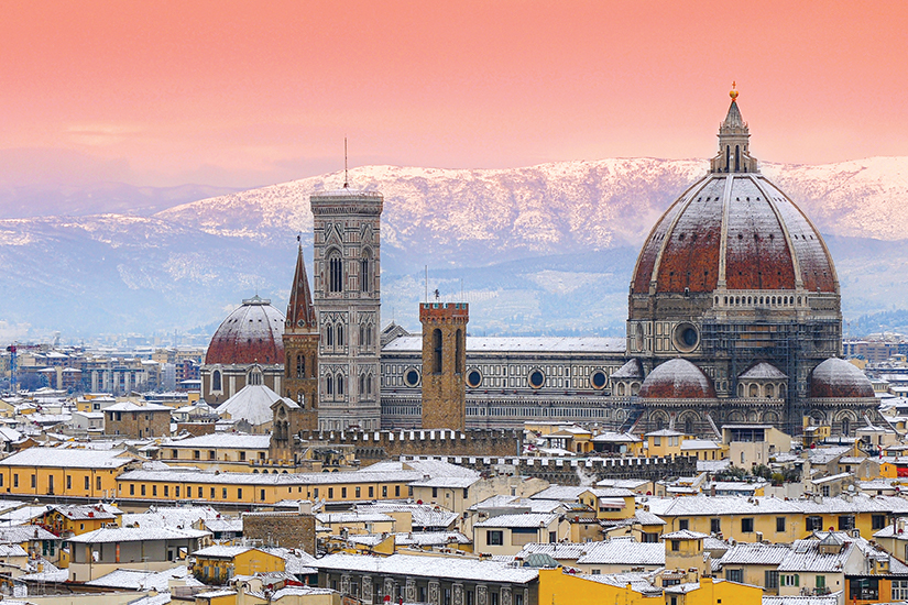 image Italie Florence Hiver 67 as_181670469