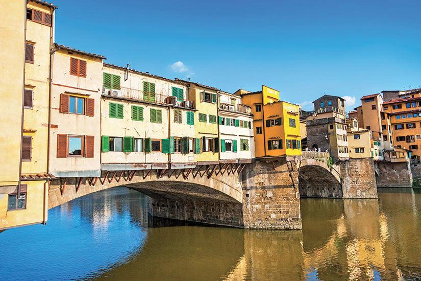 image Italie Florence Ponte Vecchio avec la riviere Arno  fo