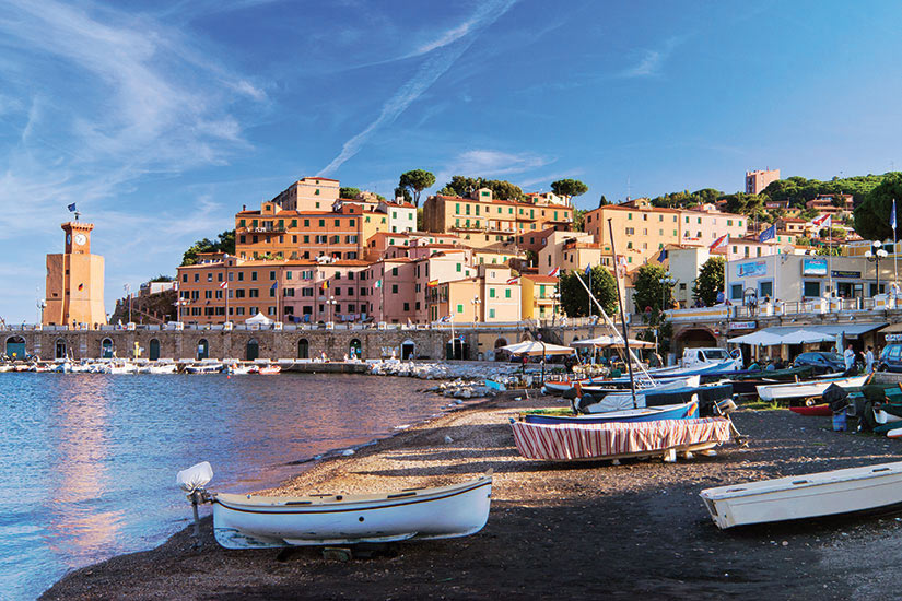 image Italie Ille Elbe Beau paysage de Rio Marina  fo