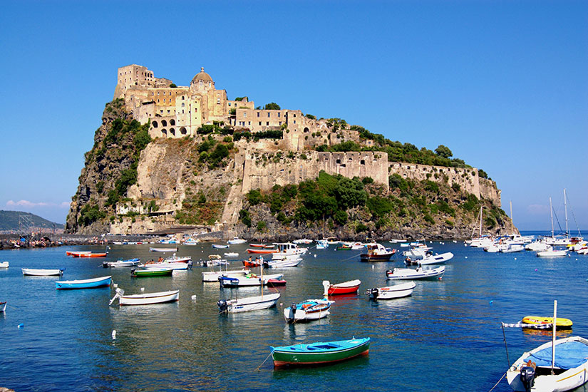 image Italie Ischia Chateau Aragonais  fo