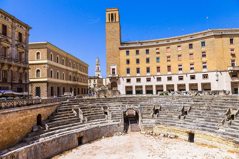 image Italie Lecce Amphitheatre romain  fo