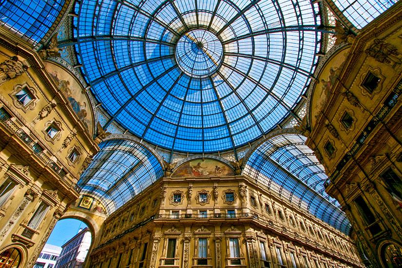 image Italie Milan Galleria Vittorio Emanuele II  it