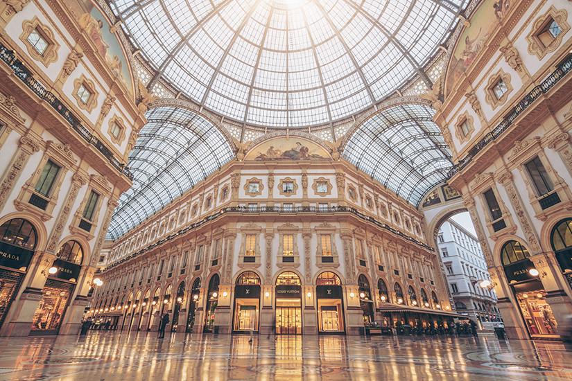 image Italie Milan Gallerie Vittorio Emanuele II as_208459598