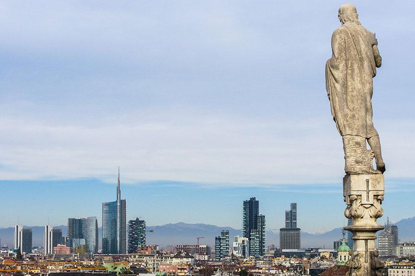 image Italie Milan panorama  it