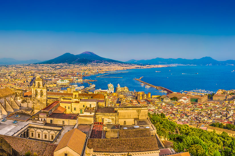 image Italie Naples panorama  it