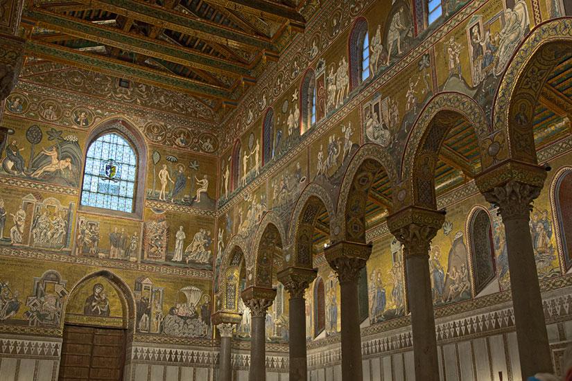 image Italie Palerme Cathedrale Monreale  it