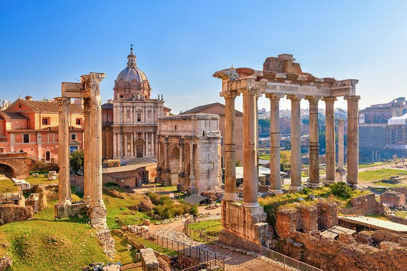 image Italie Rome Forum  fo