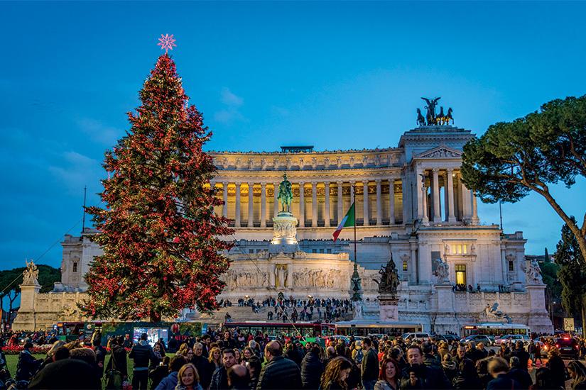 image Italie Rome Piazza Venezia a Noel 34 as_241125369