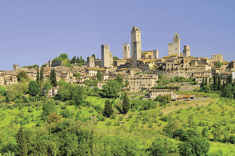 image Italie San Gimignano  it