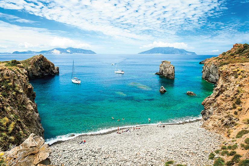 image Italie Sicile Baie de Panarea  it