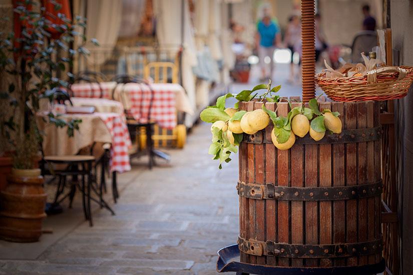 image Italie Sicile Citrons baril  it