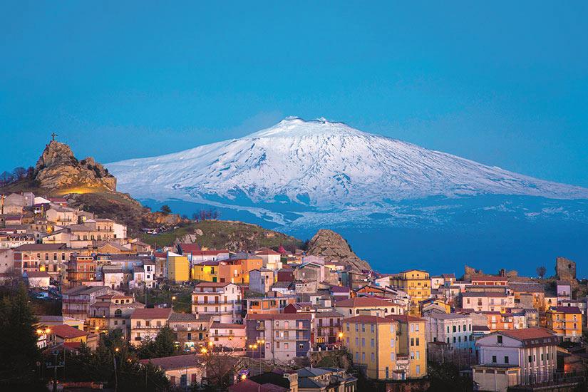 image Italie Sicile Etna Volcan  it