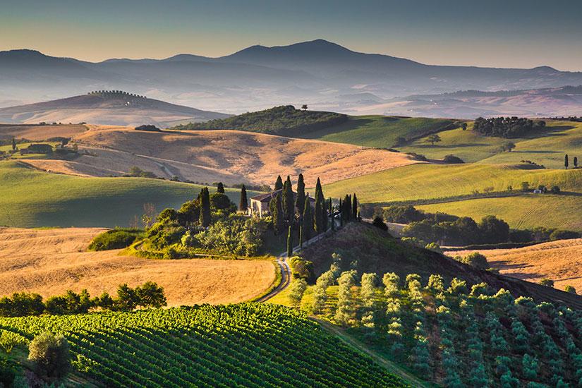 image Italie Toscane Val Orcia  it