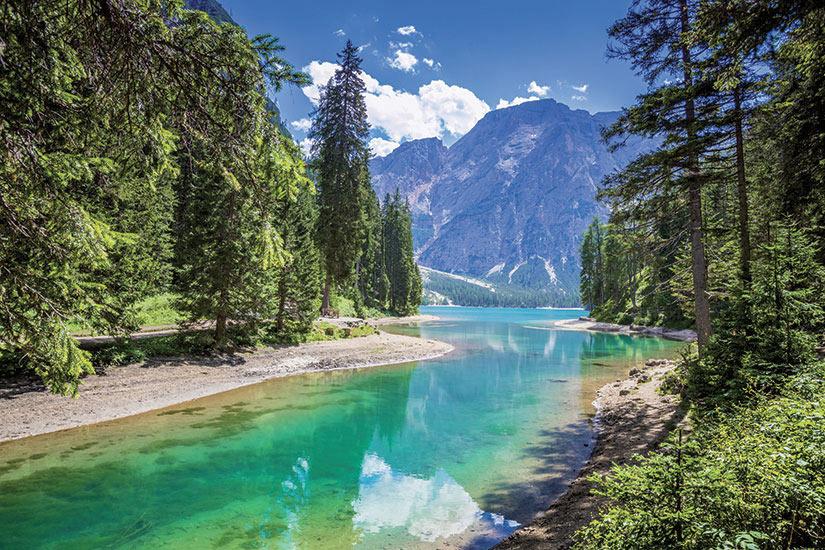 image Italie Tyrol du Sud braises avec Seekofel  fo