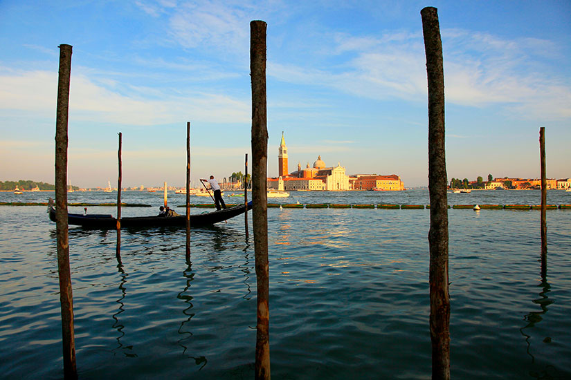 image Italie Venise Gondole canal  it
