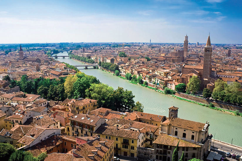 image Italie Verone Vue panoramique  it
