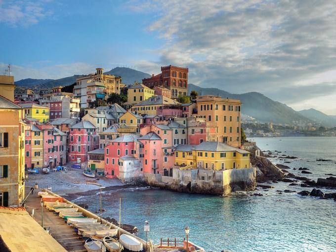 image Italie genes rive