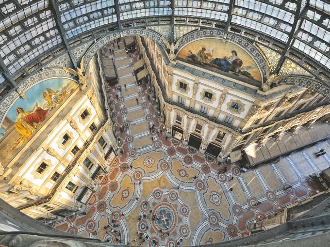 image Italie milan galerie victor emmanuel