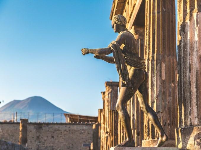 image Italie pompei vesuve