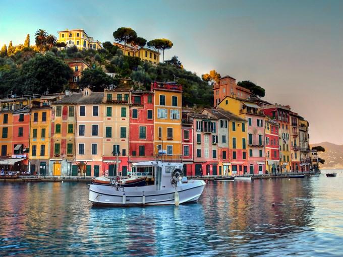image Italie portofino bateau