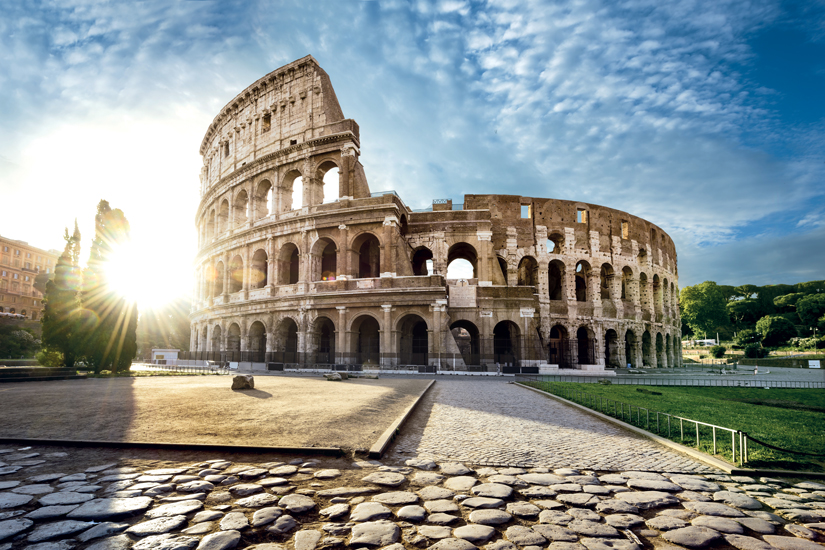 image Italie rome colisee soleil matin 79 as_120827506