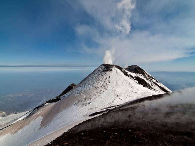 image Italie sicile etna cratere