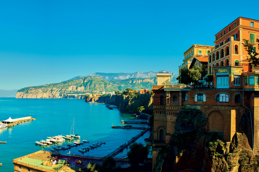 image Italie sorrente positano station europeenne panorama 78 as_100344825