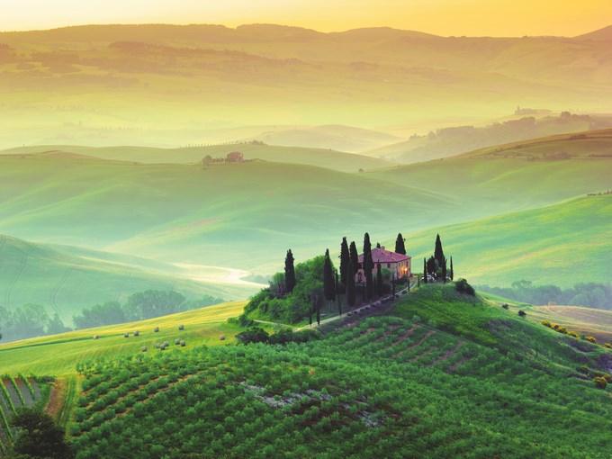 image Italie toscane vue ensemble