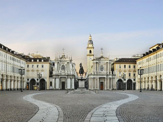 Image Italie Turin San Carlo Square
