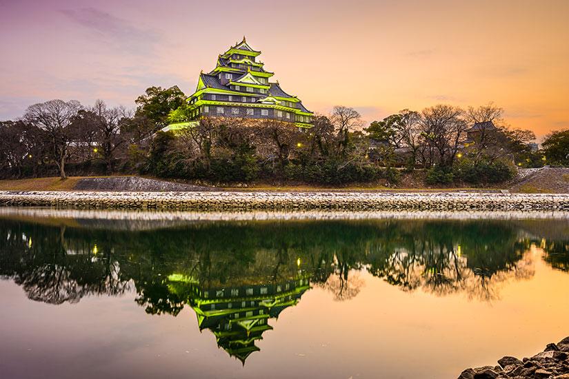 image Japon Okayama Chateau Okayama  it