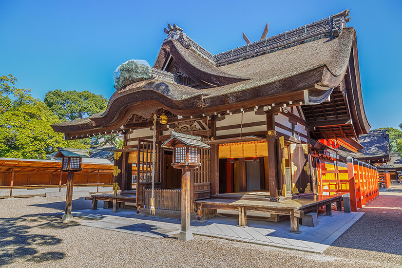 image Japon Osaka Grand Sanctuaire Sumiyoshi taisha  it