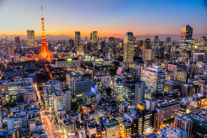 image Japon Tokyo panorama  fo
