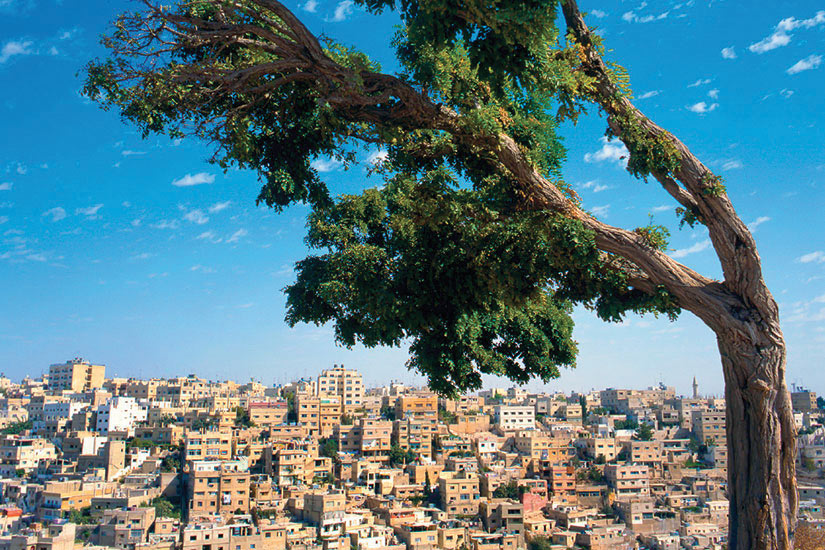image Jordanie Amman Panorama  it