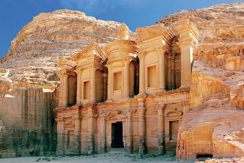image Jordanie Petra Le monastere de merveille du monde  fo