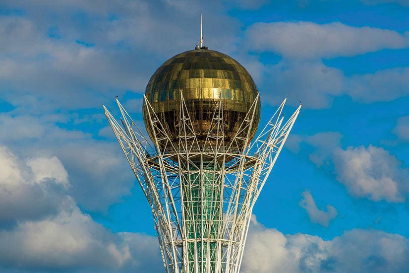 image Kazakhstan Astana Bayterek  it